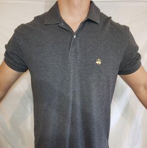 Brooks Brothers Mens Polo Black Size Medium